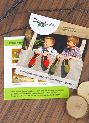 Flyer Design Doggl Shop